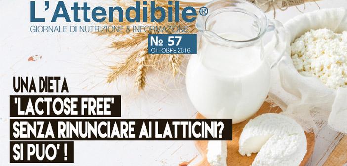 """Una dieta """"lactose free"""" senza rinunciare ai latticini"""